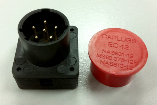Battery Connector - BA5590M (hat type)